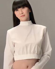 Perfume Jpop, Ruffle Blouse, Crop Tops, Women, Style, Entertainment, Godzilla, Instagram, China