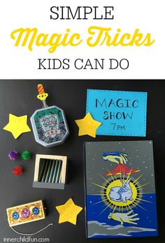 Simple Magic Tricks for Kids - #sponsored