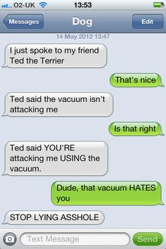The Best of Texts From Dog (19 pics)   SnarkEcards