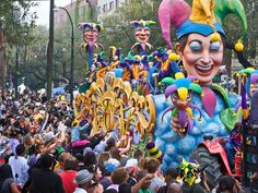 Though Mardi Gras takes credit as the USA's ultimate party, New Orleans reaches equal heights of hedonism the days prior to Fat Tuesday with street parades in all their purple, green, and gold glory. Amid all the traditional local revelry, expect bead-hungry college kids galore.