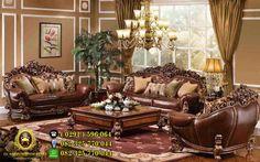 Kursi Tamu Mewah Waldorf Savana - Pilihan paket produk kursi tamu model terbaru berdesain italian furniture yang sangat elegant, mewah untuk diterapkan pada ruang tamu rumah mewah anda.