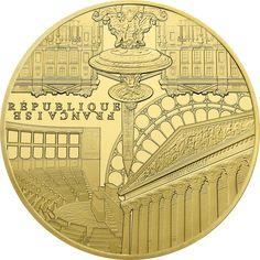 200 Euro Gold Unesco 2017 - Ufer der Seine PP  Monnaie de Paris