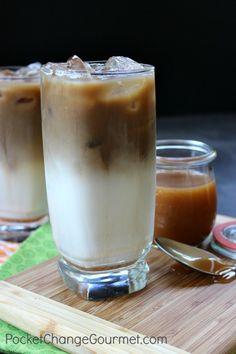 Caramel Macchiato en versión #Iced #Starbucks #Coffee #Caramelo #Vainilla #Cafe