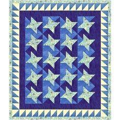 Stars of Glory Quilt Pattern plus bonus by PieceByNumberQuilts, $4.75
