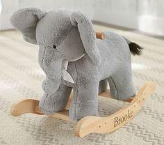 Nursery Elephant Plush Rocker #pbkids