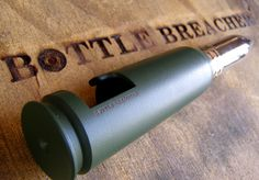 Authentic 20mm Bottle Breacher Bottle Opener! Perfect Man's Man Gift! Open a cold one in style with Bottle Breacher! #ManGift #BreacherUp