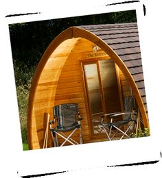 The Burrow quarry pod - perfect for a weekend escape