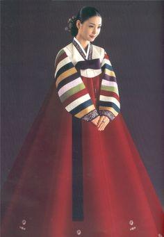 Korean Hanbok costume dates to 220