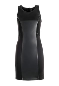 Mini dress ecoleather Miss Miss Fashion Collection FW 14/15