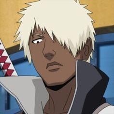 Darui from Naruto Shippuden Naruto Anime, Naruto Shippuden Sasuke, Madara Uchiha, Boruto, Black Anime Characters, Head & Shoulders, Drawing Reference, Character Design, Manga