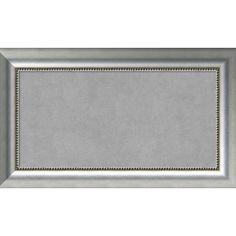 House of Hampton Framed Magnetic Memo Board Size: