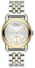 Ladies' Classica Two-Tone & Diamond Chronograph Watch