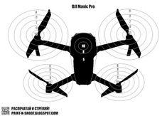 Drone (Quadrocopter) target. DJI Mavic.