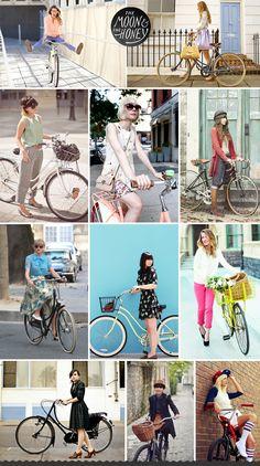 Bike Fashion | The Moon & The Honey