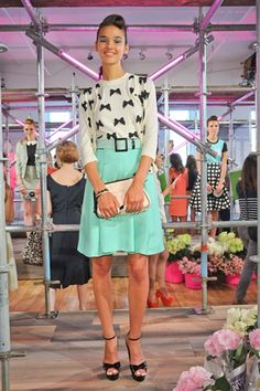 top #trends for this #spring - 60s Silhouettes, Bermuda shorts, exaggerated volume, stripes, animal print, short suits, sheer panels