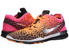Nike Free 5.0 TR Fit 5 PRT Black/Bright Crimson/Atomic Pink/Black - 6pm.com