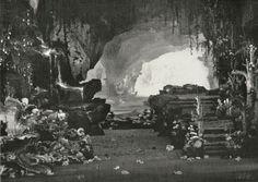 """ Tannhäuser "" 1.Akt 1.Bild 1891 Max Brückner Bühnenphoto"