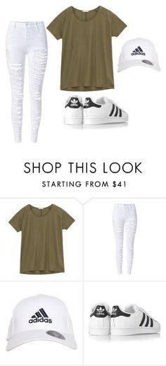 """Khaki Tumblr Outfit"" by marimarielle ❤ liked on Polyvore featuring Lee, adidas and adidas Originals"
