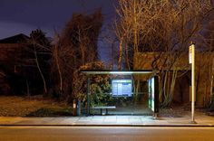 Junkculture: Bus Stops at Night Photographed by Jack Hinds