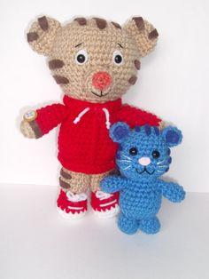 Crochet Pocket Tigey Inspired by Daniel Tiger by YarnForRowyn. I just  received the one I 6208d64c537