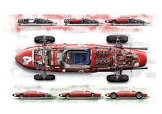 f1 Ferrari 156 Shark Nose 3