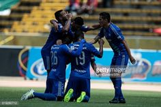 QUITO, ECUADOR - OCTOBER 30: Cristian Guanca of Emelec... #saintvincentdecosse: QUITO, ECUADOR - OCTOBER 30: Cristian… #saintvincentdecosse