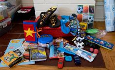 This blog has great ideas for Operation Christmas Child shoe boxes!