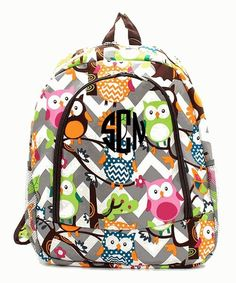Cute 3d printing owl backpack for #school #casual 16 inch children ...