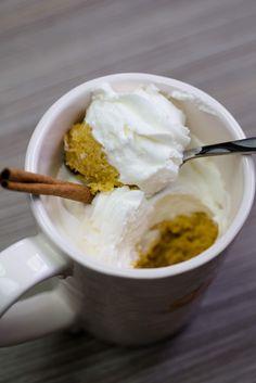 Pumpkin Spice Mug Cake [OC][3109x4663]
