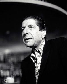 Photo: Leonard Cohen at Sebel Town House, Sydney - May 20. 1985 - Cohencentric: Leonard Cohen Considered