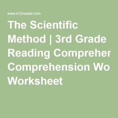 1000 ideas about scientific method worksheet on pinterest