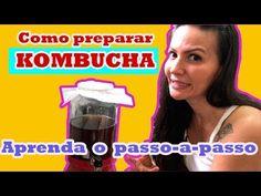 Aprenda a preparar o chá milagroso KOMBUCHA!!!! Passo a passo - YouTube Kombucha, Kefir, Youtube, Food, Pup, Homemade, Step By Step, Recipes, Beverages
