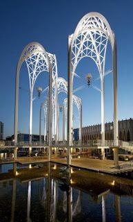 Pacific Science Center, Seattle, Washington 1962 Minoru Yamasaki (originally constructed for the World's Fair)