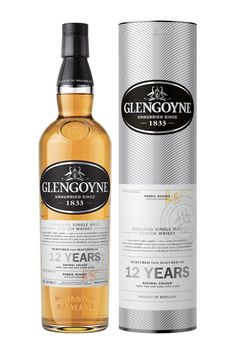 Glengoyne Single Malt Scotch 12 Year Old; Rediscover single malt at its finest; | spiritedgifts.com