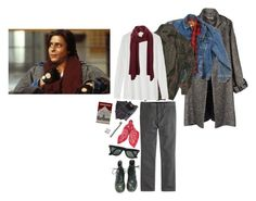 John Bender // The Criminal // The Breakfast Club by popunkpizza on Polyvore featuring мода, Toast, Jean-Paul Gaultier, Wrangler, J.Crew, SELECTED, Levi's and Ray-Ban