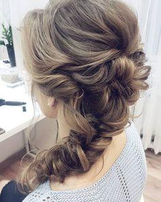 Magda i jej luźny warkocz w stylu boho. Co myślicie o takiej fryzurze na slub? . . . #wedding #hair #boho #look #hairstyles #blonde #bride #braid