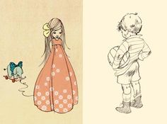 Childrens Illustration Belle & boo, my daughter & I love these illustrations.