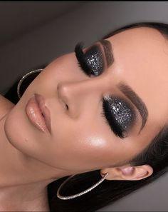 Uploaded by Rhbeauty_ - makeup PIC - Eye Makeup Kiss Makeup, Glam Makeup, Love Makeup, Makeup Inspo, Makeup Inspiration, Hair Makeup, Make Up Geek, Make Up Looks, Makeup Goals