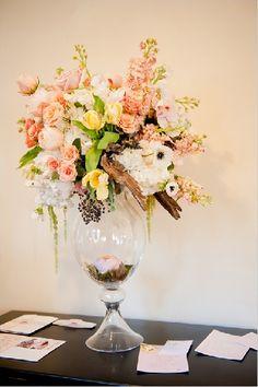 Vintage Garden Peach Wedding Ideas - Lover.ly