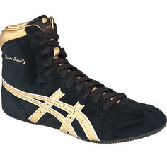 A tribute to a legend: Dave Schultz Classic wrestling shoe from ASICS.