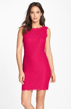 Check out the Adrianna Papell Boatneck Lace Sheath Dress (Regular & Petite) from Nordstrom: http://shop.nordstrom.com/S/3306604