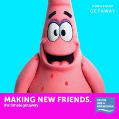 Repin if you love making new friends while cruising like a Norwegian! #UltimateGetaway
