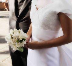 Bouquet di gardenie #matrimonio