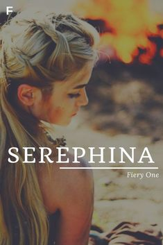 Serephina meaning Fiery One Hebrew names S baby girl names S baby names female names whimsical baby names baby girl names traditional names n Strong Baby Names, Baby Girl Names Unique, Unisex Baby Names, Cute Baby Names, Pretty Names, Boy Names, Unique Baby, Unique Names For Girls, Girls Names Vintage