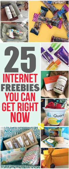 25 Unbelievable Internet Freebies to Get Before They're Gone