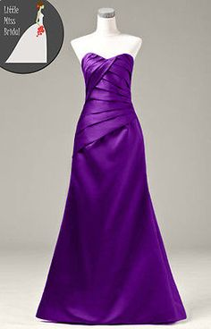 ba86cf2b631 Cadbury Purple Bridesmaid Dress Dresses Evening Ball Party Prom Formal  Wedding