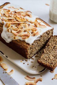 Coconut Banana Bread [gluten free//dairy free//sugar free]