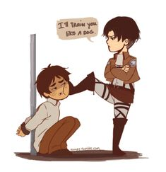 sadist+levi | ... encounter with levi well in the actual anime and even to the end levi
