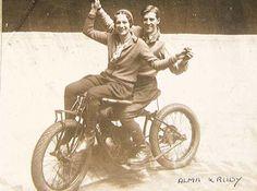 Dare Devil Alma and Rudy Knight