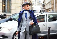 Art of Wore celebrates Esther Quek's flair for rocking menswear-inspired looks.